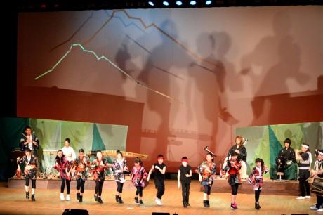 """弘前的"""" Tsugaru no Oto""""音樂會-傳統表演藝術和現代節奏"""