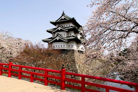 弘前城100年來第一次