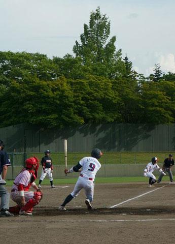 弘前Aleds對抗青森縣職業棒球選拔賽,使用互聯網直播