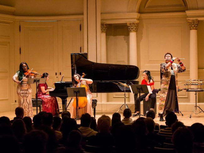 Tsugaru長笛演奏者Bunta Sato在紐約卡內基音樂廳現場直播