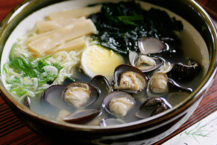 來自Shijimi當地麵條 由溫和的味道治愈
