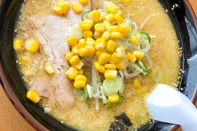 TAKE屋拉麵的「濃厚味噌拉麵」