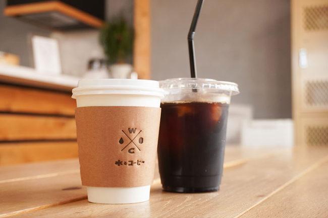 CAFÉ水與咖啡
