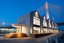 青森站附近最好的紀念品商店! .. SNS在可以看到大海的地方看起來不錯嗎?