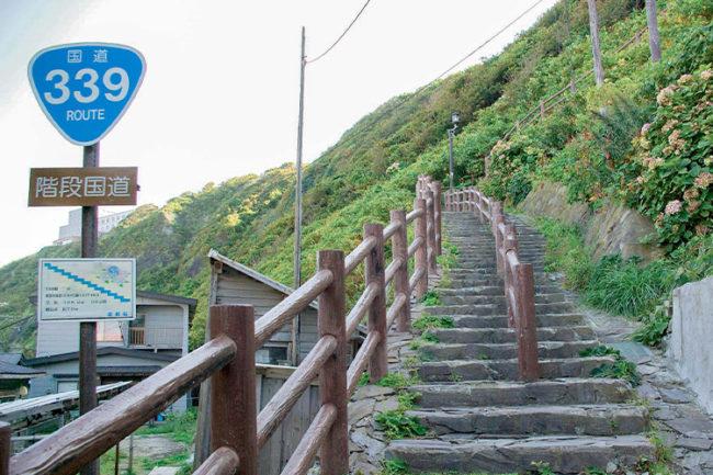 不能開車的國道!   龍飛岬,您可以享受稀有景點和壯麗景色