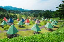 在青森的戶外設施中露營!   Cherilyn村莊,屋頂顏色可愛