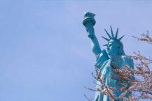 紐約在青森?在日本,第一自由女神像是哪個數字是4?