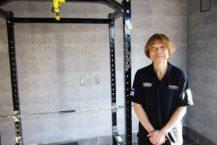 弘前轉到了一家私人體育館 壓力訓練與健身