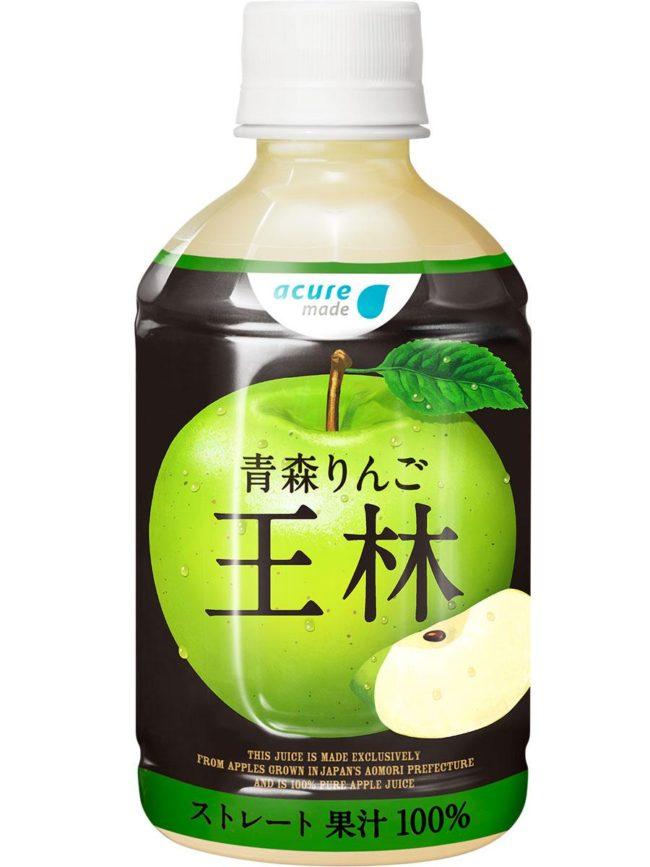 """青森蘋果""""奧林""""製成的果汁季節性蘋果使用銷售期有限"""