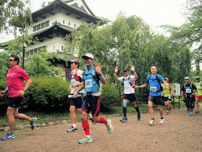 """ Michinoku Tsugaru Journey Run""參加者的招募 可以繞轉263公里,例如龍目海角"