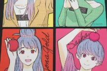 蘋果女兒與弘前駐地漫畫家石塚千尋之間的合作 紀念成立20週年