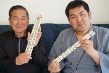 津輕長笛演奏者出售用於家庭練習的長笛 對於那些不能在家練習的人