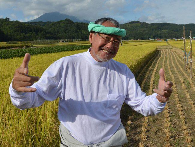 """菊木喜三先生宣布津輕方言包裝的版本""""別輸給電暈"""" 青森縣的廣播"""